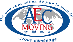 Logo de la société Aec Moving déménagement international